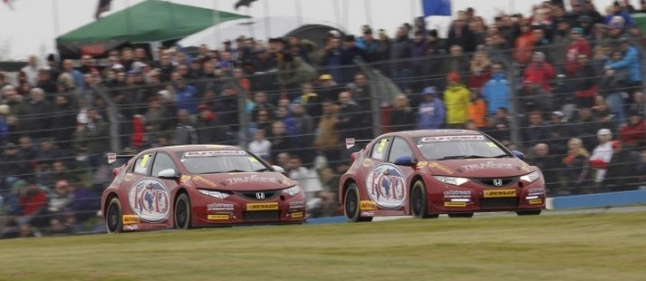 Eurotech duo showed improvements - Photo: btcc.net
