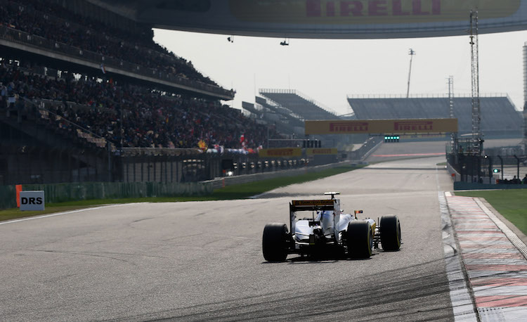Sauber looked good in China after a number of battles in the middle of the pack (Credit: Sauber F1 Team)