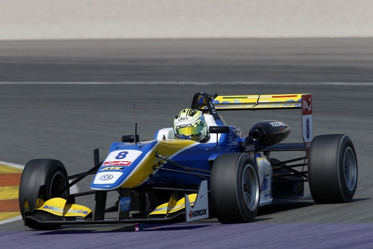 Alessio Lorandi is one of a handful of drivers making the jump up from Karting into Euro F3 in 2015 (Credit: FIA Formula 3 European Championship)