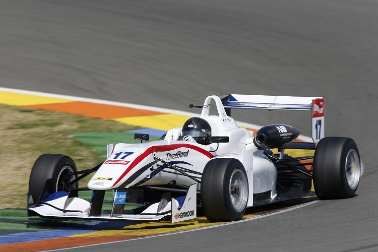 Julio Moreno is the sole ThreeBond with T-Sport entry for 2015, with the team being the only team to use the NBE engine (Credit: FIA Formula 3 European Championship)