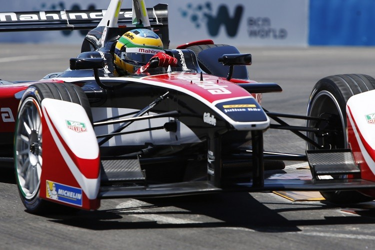 Bruno Senna took fifth for Mahindra Racing (Credit: FIA Formula E)