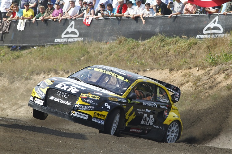 Robin Larsson (Credit: FIA World Rallycross Championship)