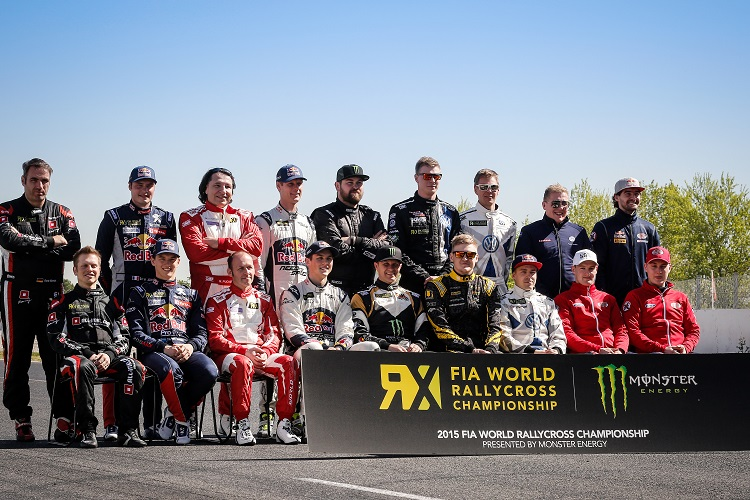 The World RX Class of 2015 (Credit: McKlein/IMG)
