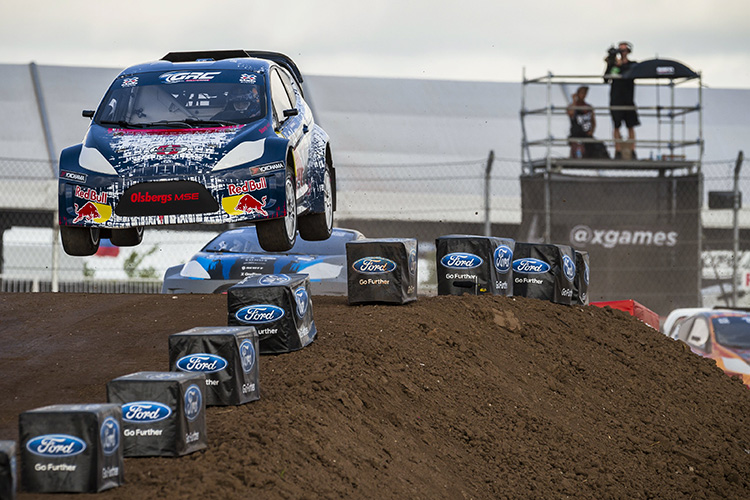 deJong in action at X Games 2014 - Photo: Garth Milan/Red Bull Content Pool