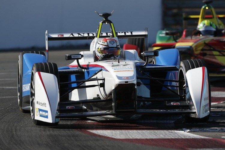 Jean-Eric Vergne was able to finish second for Andretti at Long Beach (Credit: FIA Formula E)