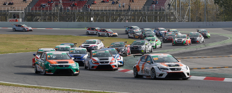 The Seat Leon Eurocup enjoyed a positive maiden season in 2014 - Credit: Seat