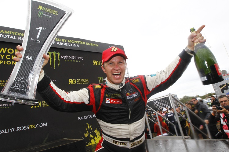 Petter Solberg returns as defending World RX Champion (Credit: McKlein / IMG)