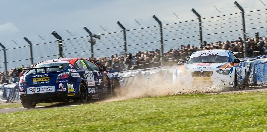 Tordoff ended in the barriers in race three - Photo: Craig McAllister