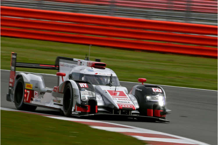 6 Hours of Silverstone, final practice (Credit: Audi Motorsport)