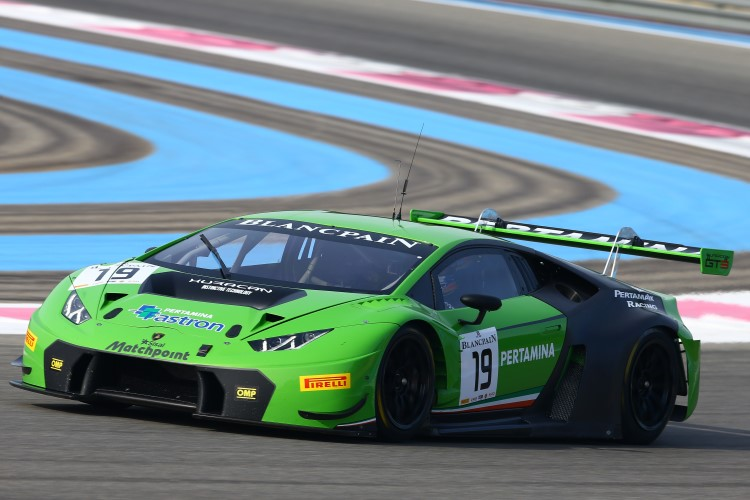 Lamborghini Huracan Wins on Debut at Blancpain Endurance Series Opener - Blancpain Endurance ...