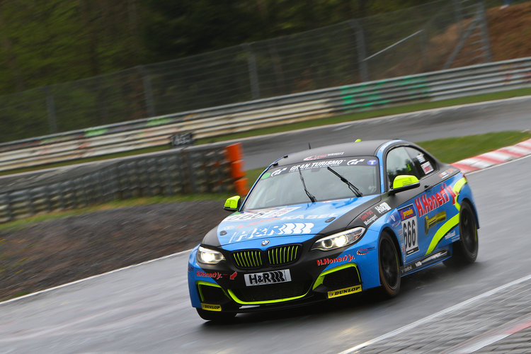 Among a large variety of classes was the M235i Racing Cup, which was won by Scheid Motorsport (Credit: BMW Motorsport)