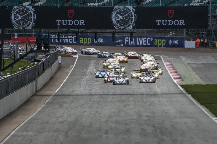 ELMS Silverstone start