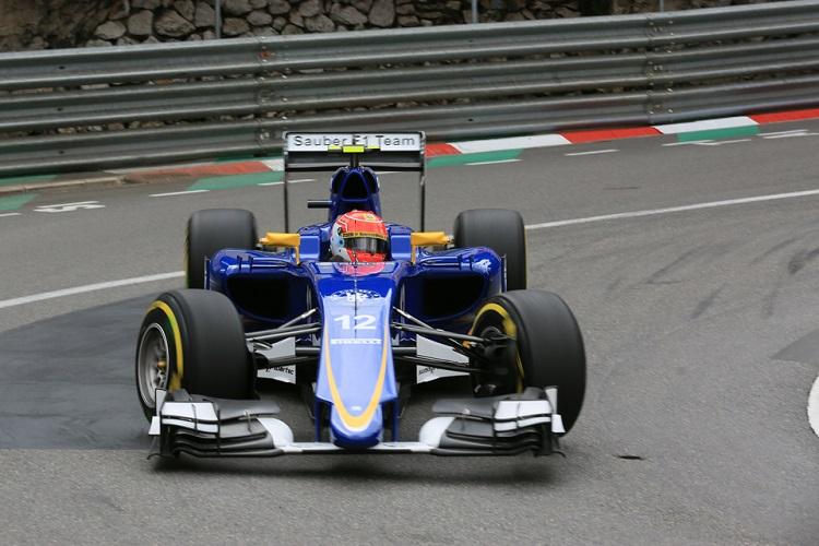 Felipe Nasr finished ninth for Sauber (Credit: Octane Photographic Ltd)