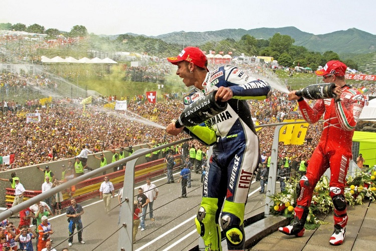 Will we see more scenes like this on Sunday? (Photo Credit: MotoGP.com)