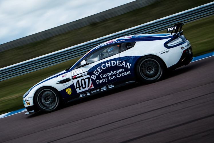 Stunning pace by the GT rookies in #407 would help them in their title success (Credit: Nick Smith/TheImageTeam.com)