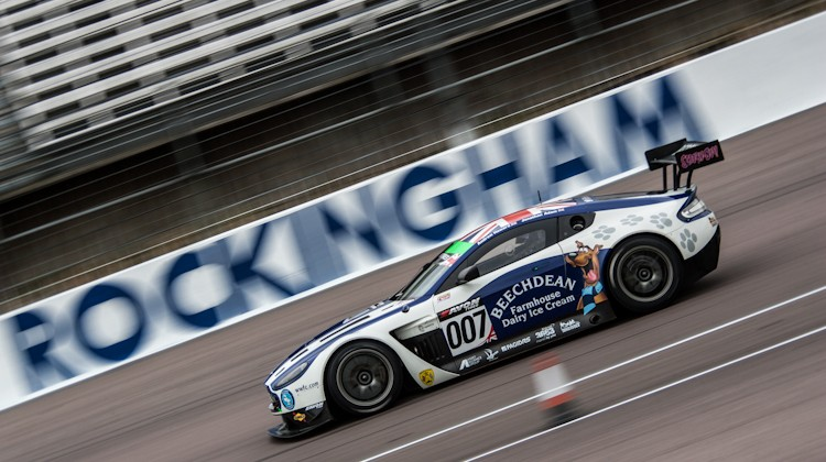 Beechdean AMR, British Gt Rockingham (Credit: Nick Smith/TheImageTeam.com)