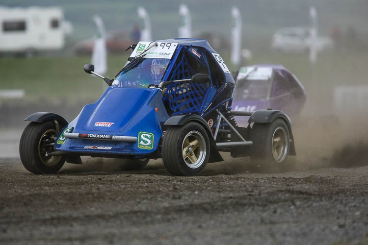 Chrissy Palmer on his way to winning the RX150's