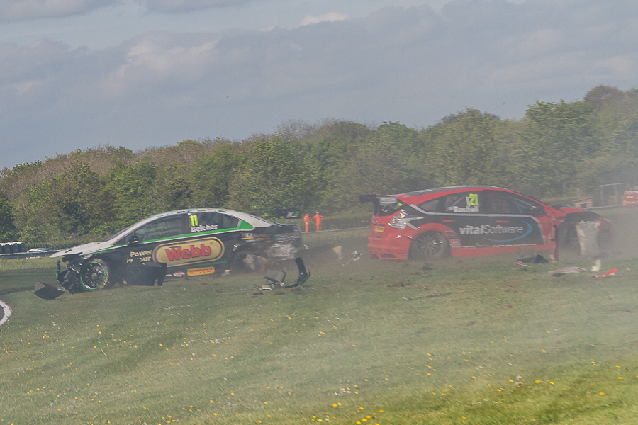 Bushell, Belcher Reflect On Thruxton Accident