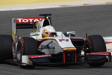 Arthur Pic is one of the favourites for the GP2 title in 2015 (Credit: Sam Bloxham/GP2 Series Media Service)