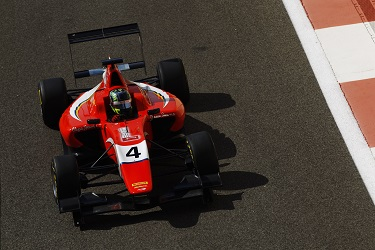 Visoiu spent three years in GP3... and is still only 19! (Credit: Sam Bloxham/GP3 Series Media Service)