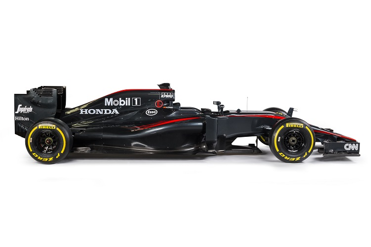 McLaren-Honda unveil new livery for the Spanish GP