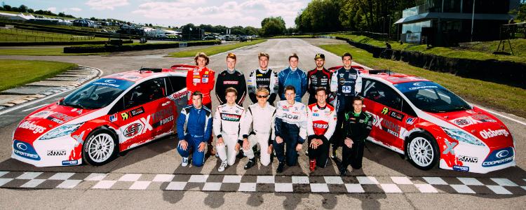 The Twelve RX Talent Search Finalists - Credit: FIA World Rallycross Championship