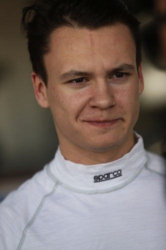 Robert Visoiu has moved up from GP3 into GP2 in 2015 (Credit: Sam Bloxham/GP2 Series Media Service)