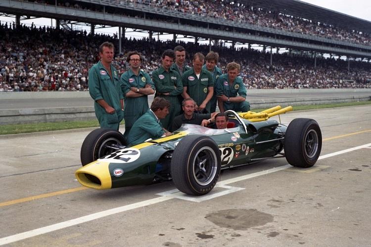 Indy 500 Memories Jim Clark Wins In 1965 Formula 1