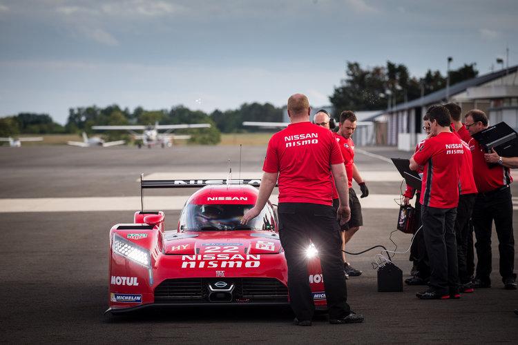 Nissan G-R LM NISMO Le Mans testing