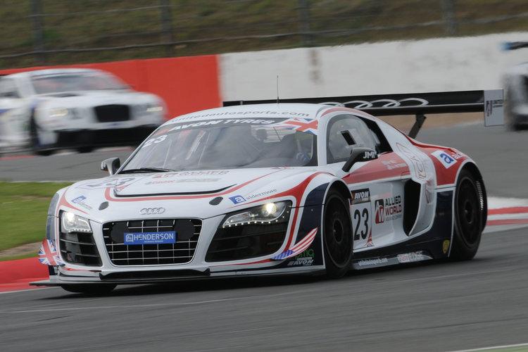 United Autosports Audi British GT 2014