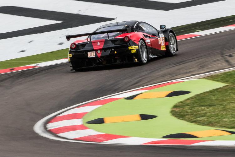 Car #56 / AT RACING (AUT) / Ferrari F458 Italia / Alexander Talkanitsa (BLR) / Alexander Talkanitsa Jr (BLR) / Alessandro Pierguidi (ITA) - ELMS 4 Hours of Imola at Autodromo International Enzo e Dino Ferrari Imola - Imola - Italy