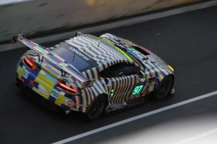 Aston Martin had a poor set of results. The #97 'art car' retired after eight hours.