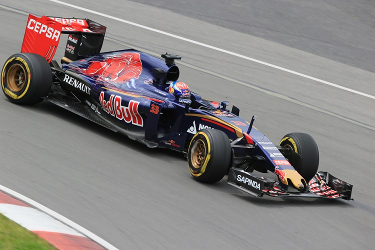 Max Verstappen was heavily compromised by penalties in Canada (Credit: Octane Photographic Ltd)