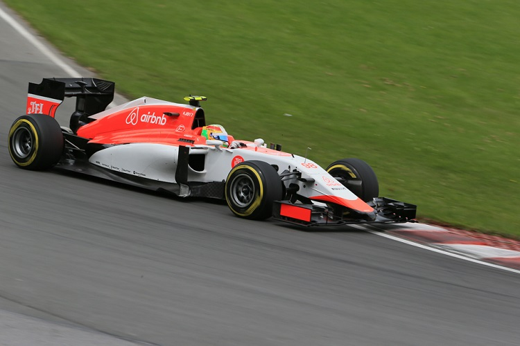 Roberto Merhi out-qualified his team-mate in Canada (Credit: Octane Photographic Ltd)