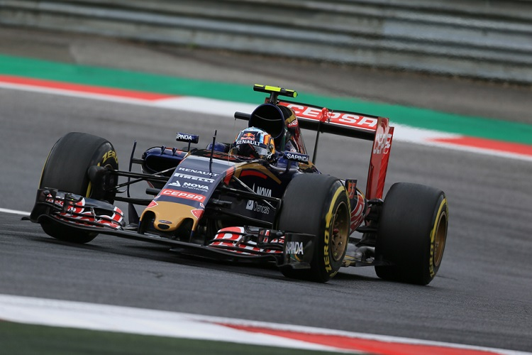 Carlos Sainz was forced to retire with power issues in Austria (Credit: Octane Photographic Ltd)