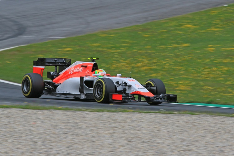 Roberto Merhi out-qualified his team-mate for a second consecutive race (Credit: Octane Photographic Ltd)