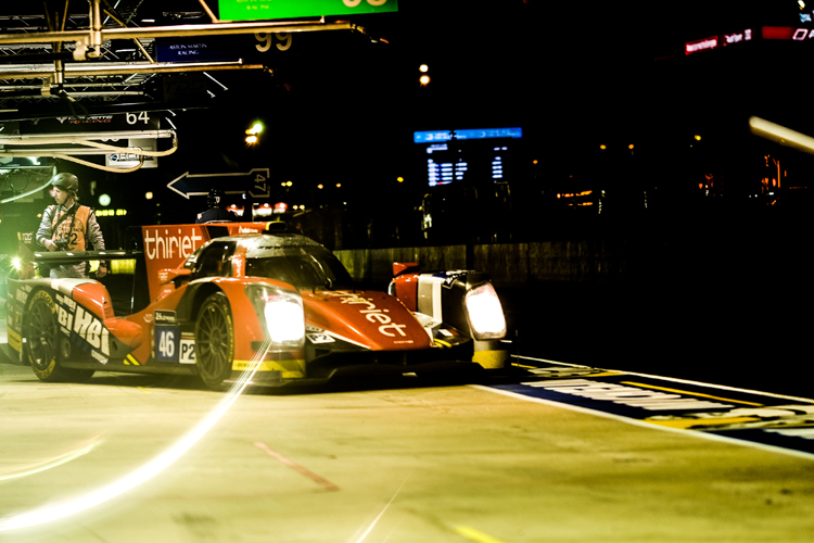 The #46 retired following an accident. (Credit: FIA WEC)