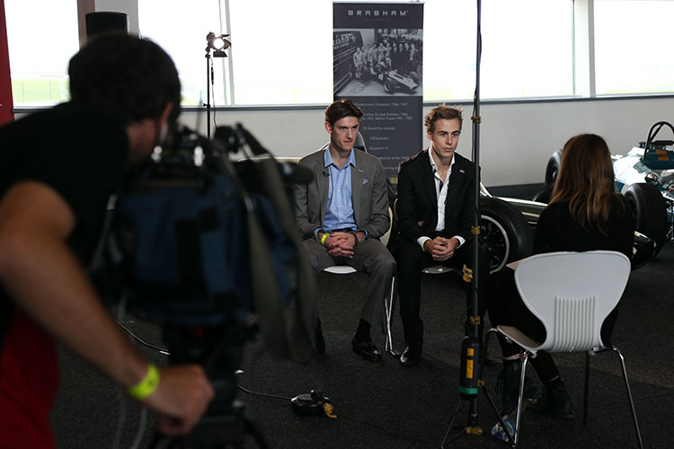 David's son Sam and nephew Matt have contributed to the project and could both race under the Brabham Racing banner if the situation is right.