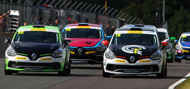 Ladell Has Been Right In The Thick Of The Clio Cup Action This Season - Credit: Jakob Ebrey Photography