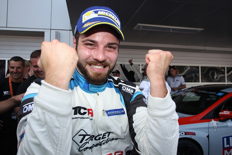 Stefano Comini's victory in race two saw him take the championship lead (Credit:  TCR International Series)