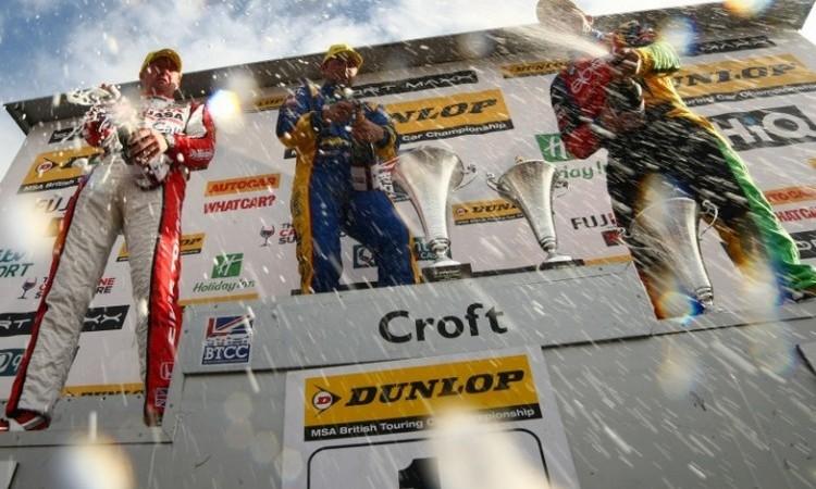 Croft podium 2014