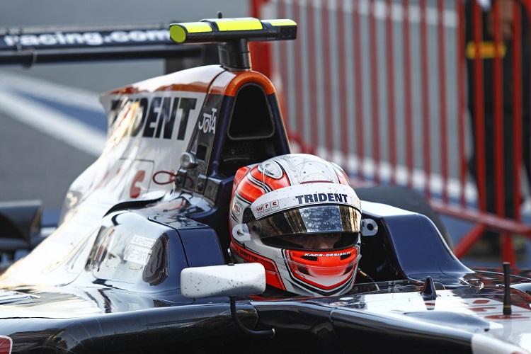 Luca Ghiotto took his maiden GP3 podium in Spain (Credit: Sam Bloxham/GP3 Media Service)