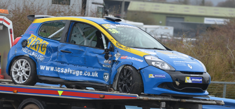 Herbert Found Out How Challenging Thruxton Can Be In Testing - Credit: Simon Paice Media