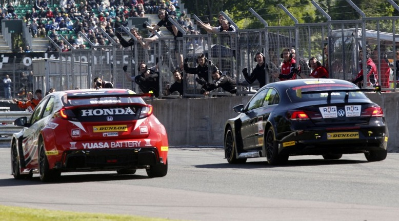 Oulton Park 2015 finish