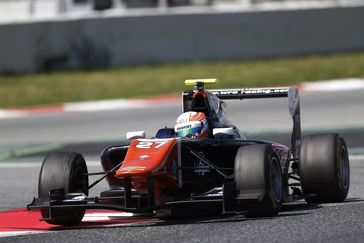 Luca Ghiotto is eyeing a GP3 championship challenge in 2015 (Credit: Sam Bloxham/GP3 Series Media Service)