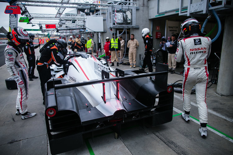 Ginetta Nissan LMP3 Le Mans test day