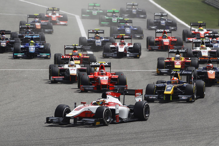 How many of the GP2 class of 2015 will make it to Formula One? (Credit: Sam Bloxham/GP2 Media Service)