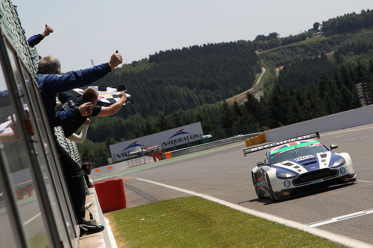 Beechdean would come back in style in the Ardennes (Credit: British GT/Jakob Ebrey)