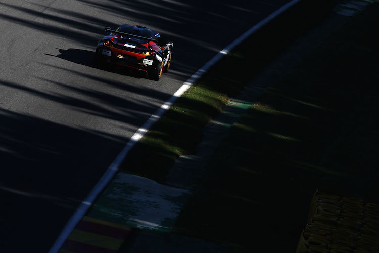 ISSY Racing had a typically strong run during qualifying (Credit: British GT)