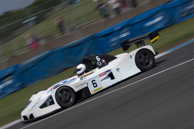 Mike Millard took pole in qualifying but struggled in both races. (Credit: Nick Smith/TheImageTeam.com)